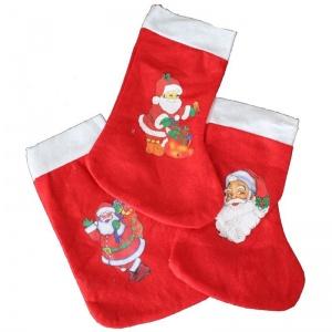 Noel çorapları Ve Torbaları Dolu Dolu Parti Malzemeleri