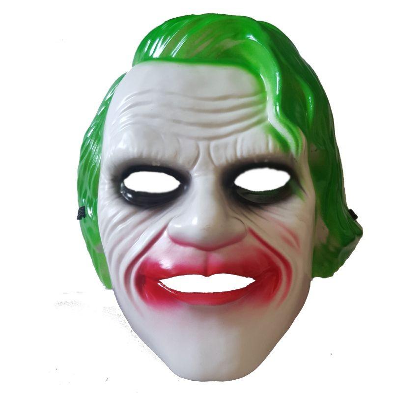 Plastik Batman Joker Maskesi Cadilar Bayrami Dolu Dolu Parti